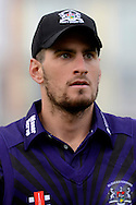 Gloucestershire's Benny Howell during the NatWest T20 Blast South Group match between Gloucestershire County Cricket Club and Middlesex County Cricket Club at the Bristol County Ground, Bristol, United Kingdom on 15 May 2015. Photo by Alan Franklin.