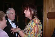 John Major and Janet Street-Porter. National Portrait Gallery  150th Anniversary Fundraising Gala. National Portrait Gallery. London. 28 February 2006. ONE TIME USE ONLY - DO NOT ARCHIVE  © Copyright Photograph by Dafydd Jones 66 Stockwell Park Rd. London SW9 0DA Tel 020 7733 0108 www.dafjones.com