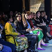 Her Excellency HE Hon. Titilupe Fanetupouvava'u Tu'ivakano of Tonga High Commissioner UK  attends at London Pacific Fashion Week (backstage) at one Whitehall, London, UK. 25 Feb 2019.