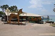 Israel, Kibbutz Ein Gev (Established 1937) on the shores of the Sea of Galilee