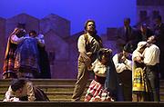 GASTON DE CARDENAS/El NUEVO HERALD --The climaxtic last sence of the Cavalleria Rusticana performed by Florida Grand Opera at the Dade County Audtorium in Miami.