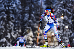 March 8, 2019 - –Stersund, Sweden - 190308 Yan Zhang of China competes in the Women's 7.5 KM sprint during the IBU World Championships Biathlon on March 8, 2019 in Östersund..Photo: Petter Arvidson / BILDBYRÃ…N / kod PA / 92247 (Credit Image: © Petter Arvidson/Bildbyran via ZUMA Press)