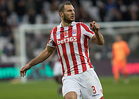 Football - 2016 / 2017 Premier League - West Ham United vs. Stoke City<br /> <br /> Erik Pieters of Stoke City at The London Stadium.<br /> <br /> COLORSPORT/DANIEL BEARHAM