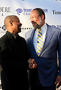 Denzel Washington and Dick Parsons at The Apollo Theater 4th Annual Hall of Fame Induction Ceremony & Gala with production design by In Square Circle Design Concepts, held at The Apollo Theater on June 2, 2008