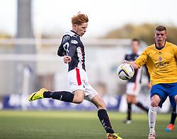 Falkirk's Scott Shepherd.<br /> Falkirk 6 v 0 Cowdenbeath, Scottish Championship game played at The Falkirk Stadium, 25/10/2014.