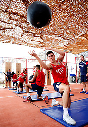 Callum O'Dowda of Bristol City works out in the gym - Mandatory by-line: Matt McNulty/JMP - 20/07/2017 - FOOTBALL - Tenerife Top Training Centre - Costa Adeje, Tenerife - Pre-Season Training