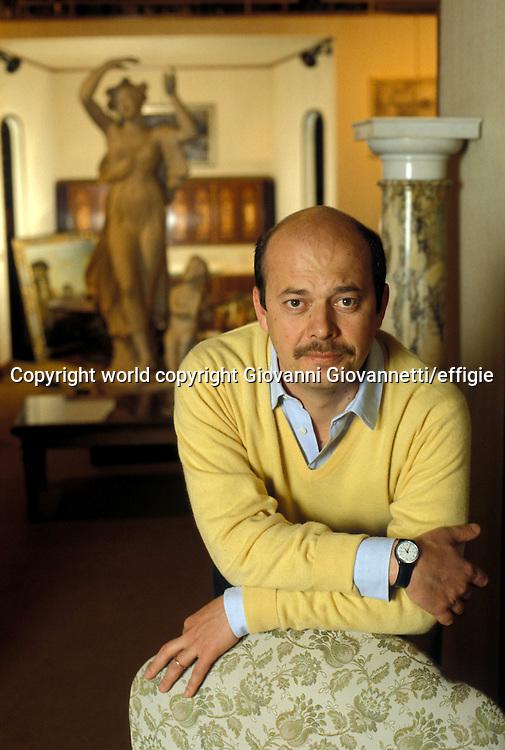 Filippo Tuena<br />world copyright Giovanni Giovannetti/effigie / Writer Pictures<br /> <br /> NO ITALY, NO AGENCY SALES / Writer Pictures<br /> <br /> NO ITALY, NO AGENCY SALES