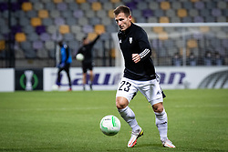 Klemen Sturm of NS Mura before football match between NS Mura and Rennes (FRA) in group stage of UEFA Europa Conference League 2021/22, on 20 of October, 2021 in Ljudski Vrt, Maribor, Slovenia. Photo by Blaž Weindorfer / Sportida