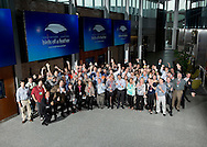 Group shot for the 2014 BrightIdea Birds of a Feather meeting at WMS Gaming on June 25, 2013 in Chicago. (For BrightIdea)
