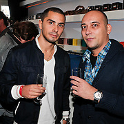 NLD/Amsterdam/20101025 - Presentatie Ice-Watch lijn, Partysquad, DJ Jerry (Jerry Leembruggen) en MC Ruben (Ruben Fernhout)