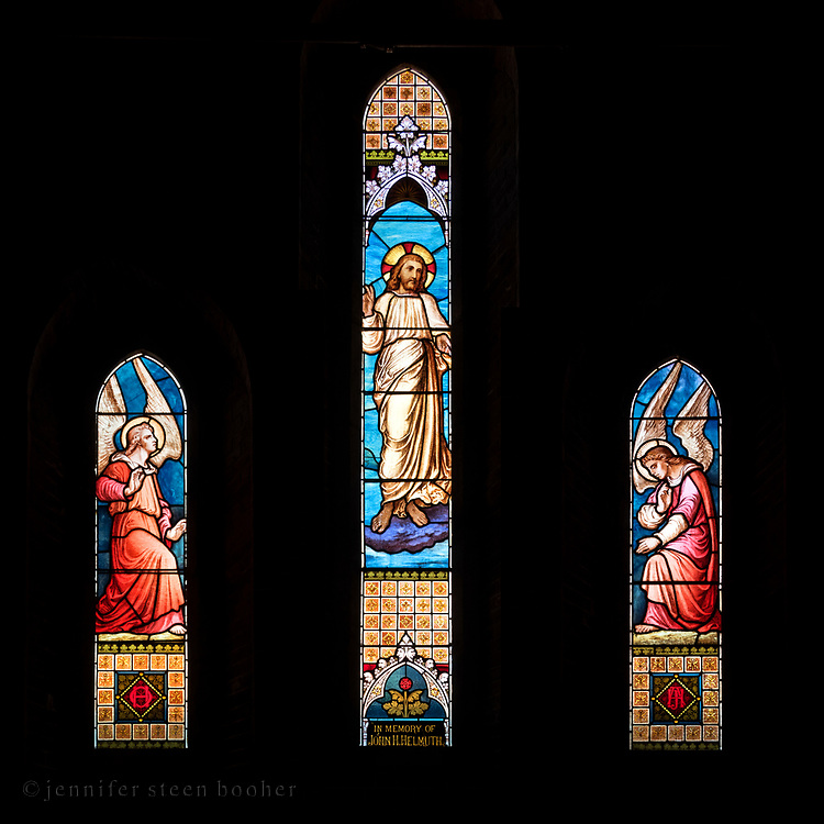 Window 20 on plan.<br /> <br /> St. Saviour's Episcopal Church, Bar Harbor, Maine.