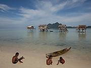 On Maiga island.