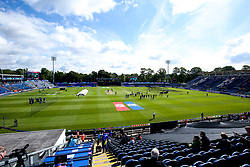 A general view of the Cardiff Wales Stadium (Sophia Gardens) - Mandatory by-line: Robbie Stephenson/JMP - 08/06/2019 - CRICKET - Cardiff Wales Stadium - Cardiff , England - England v Bangladesh - ICC Cricket World Cup 2019 Group Stage