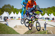 #11 (FIELDS Connor) USA during practice of Round 3 at the 2018 UCI BMX Superscross World Cup in Papendal, The Netherlands