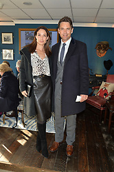 DOUGRAY SCOTT and CLAIRE FORLANI at the 2014 Hennessy Gold Cup at Newbury Racecourse, Newbury, Berkshire on 29th November 2014.  The Gold Cup was won by Many Clouds ridden by Leighton Aspell.
