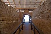 The Canaanite city gate Ashkelon National Park, Israel, 1850 BCE