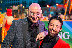 08.06.2019, Rathaus, Wien, AUT, Life Ball, im Bild v. l. Ralf Morgenstern, Marco Gulino // during the Life Ball at the Rathaus in Wien, Austria on 2019/06/08. EXPA Pictures © 2019, PhotoCredit: EXPA/ Florian Schroetter
