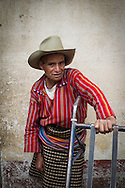 A farmer at a market in Solola, Guatemala on June 21, 2012.  <br /> CARE Photo by Erin Lubin