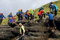 09-07-2014 ISL: Iceland Diabetes Challenge Dag 5, Emstrur<br /> Van Alftavatn naar Emstrur / Edwin van Zanen