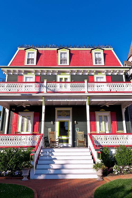 Beautiful victorian B&B in Cape May, New Jersey, NJ, USA
