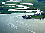 Bay Point, New Jersey, Fishing Boats, Estuary and Delaware Bay