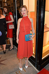 CAMILLA RUTHERFORD at the launch of the new Bulgari flagship store at 168 New Bond Street, London on 14th April 2016.
