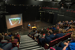 Fans gather for the Mark Sampson Q and A  - Mandatory byline: Dougie Allward/JMP - 07966386802 - 05/09/2015 - FOOTBALL - SGS Wise Campus -Bristol,England - Bristol Academy Womens v Birmingham City Ladies - FA Womens Super League
