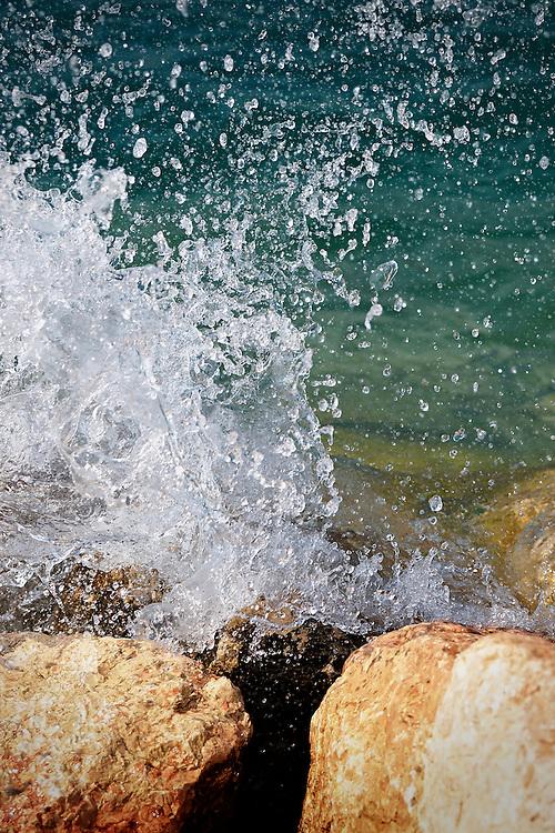 Italy - Garda lake - Splash