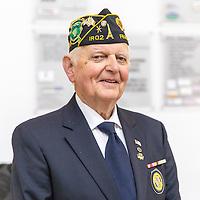 Pat Mulcahy Commander of the Father Duffy Post American Legion IR02 Killarney Co Kerry