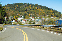 The small town of Sekiu.Olympic Peninsula Park, WA