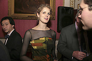 PHILIPPA NOAKES, Literary Review's Bad Sex In Fiction Prize.  In & Out Club (The Naval & Military Club), 4 St James's Square, London, SW1, 29 November 2006. <br />