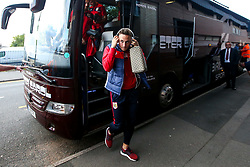 Josh Brownhill of Bristol City arrives at the Hawthorns for the Sky Bet Championship fixture against West Bromwich Albion - Mandatory by-line: Robbie Stephenson/JMP - 18/09/2018 - FOOTBALL - The Hawthorns - West Bromwich, England - West Bromwich Albion v Bristol City - Sky Bet Championship
