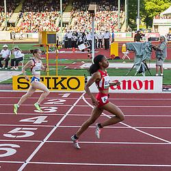 womens 400 meters semi, Olivia Baker, USA