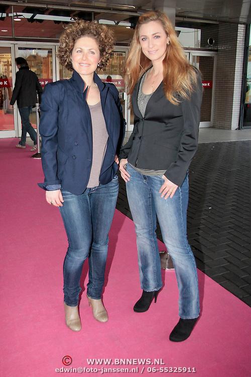 NLD/Amsterdam/20110401 - The Fashion Lisst Vip Night in de Rai, Fabienne de Vries en .....