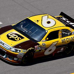 April 17, 2011; Talladega, AL, USA; NASCAR Sprint Cup Series driver David Ragan (6) during the Aarons 499 at Talladega Superspeedway.   Mandatory Credit: Derick E. Hingle
