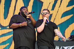 Run the Jewels performing during the Glastonbury Festival at Worthy Farm in Pilton, Somerset. Picture date: Friday June 23rd, 2017. Photo credit should read: Matt Crossick/ EMPICS Entertainment.