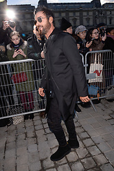 Justin Theroux arriving at the Louis Vuitton show as part of the Paris Fashion Week Womenswear Fall/Winter 2018/2019 in Paris, France on March 6, 2018. Photo by Julien Reynaud/APS-Medias/ABACAPRESS.COM