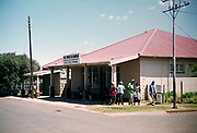 Typical rural shop front with covered area, South Africa 1979