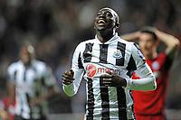 Football - Premier League -  Newcastle United vs. West Bromwich Albion<br /> Papiss Cissé (Newcastle United) celebrates his goal at St James' Park.