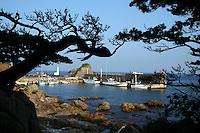 Shikinejima Port, Izu Islands - Shikinejima or Shikine Island is one of the most popular of the Izu islands chain for its hot springs, slow island life and ocean views.