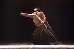 English National Ballet <br /> Triple Bill<br /> at Sadler's Wells, London, Great Britain <br /> rehearsal <br /> 7th September 2015 <br /> <br /> Dust<br /> by Akram Khan <br /> <br /> Tamara Rojo <br /> James Streeter <br /> <br /> <br /> <br /> Photograph by Elliott Franks <br /> Image licensed to Elliott Franks Photography Services