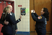 New York, NY- January 16:  FDNY Fire Commissioner Salvatore Cassano at the New York City Service Program in Honor of Martin Luther King Jr. Day held at the Mirabel Sisters Campus in West Harlem, New York City. Photo Credit: Terrence Jennings