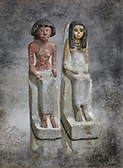 Female ancient Egyptian statue, New Kingdom, 18th Dynasty, (1480-1390 BC), Thebes Necropolis. Egyptian Museum, Turin. Drovetti collection.