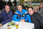 Forest Green Rovers Haydn Hollis with his sponsors during the EFL Sky Bet League 2 match between Forest Green Rovers and Mansfield Town at the New Lawn, Forest Green, United Kingdom on 24 March 2018. Picture by Shane Healey.