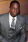 November 3, 2012- New York, NY: Visual Artist Sanford Biggers at the EBONY Power 100 Gala Presented by Nationwide held at Jazz at Lincoln Center on November 3, 2012 in New York City. The EBONY Power 100 Gala Presented by Nationwide salutes the country's most influential African Americans.(Terrence Jennings) .