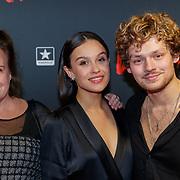 NLD/Utrecht/20190114 - Premiere Vals, Holly Brood en partner Soy Kroon, Xandra Jansen