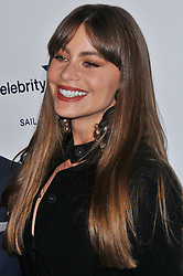 Sofia Vergara arrives at Jessie Tyler Ferguson's 'Tie The Knot' 5 Year Anniversary celebration held at NeueHouse Hollywood in Los Angeles, CA on Thursday, October 12, 2017. (Photo By Sthanlee B. Mirador/Sipa USA)