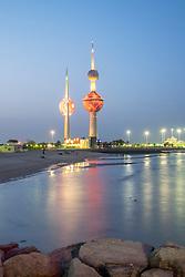 Kuwait Towers in Kuwait City