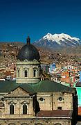 Cathedral_Mount Illimani_La Paz_Bolivia