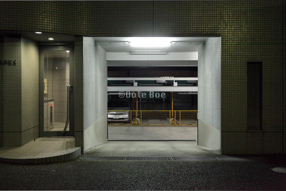 apartments ground floor parking garage